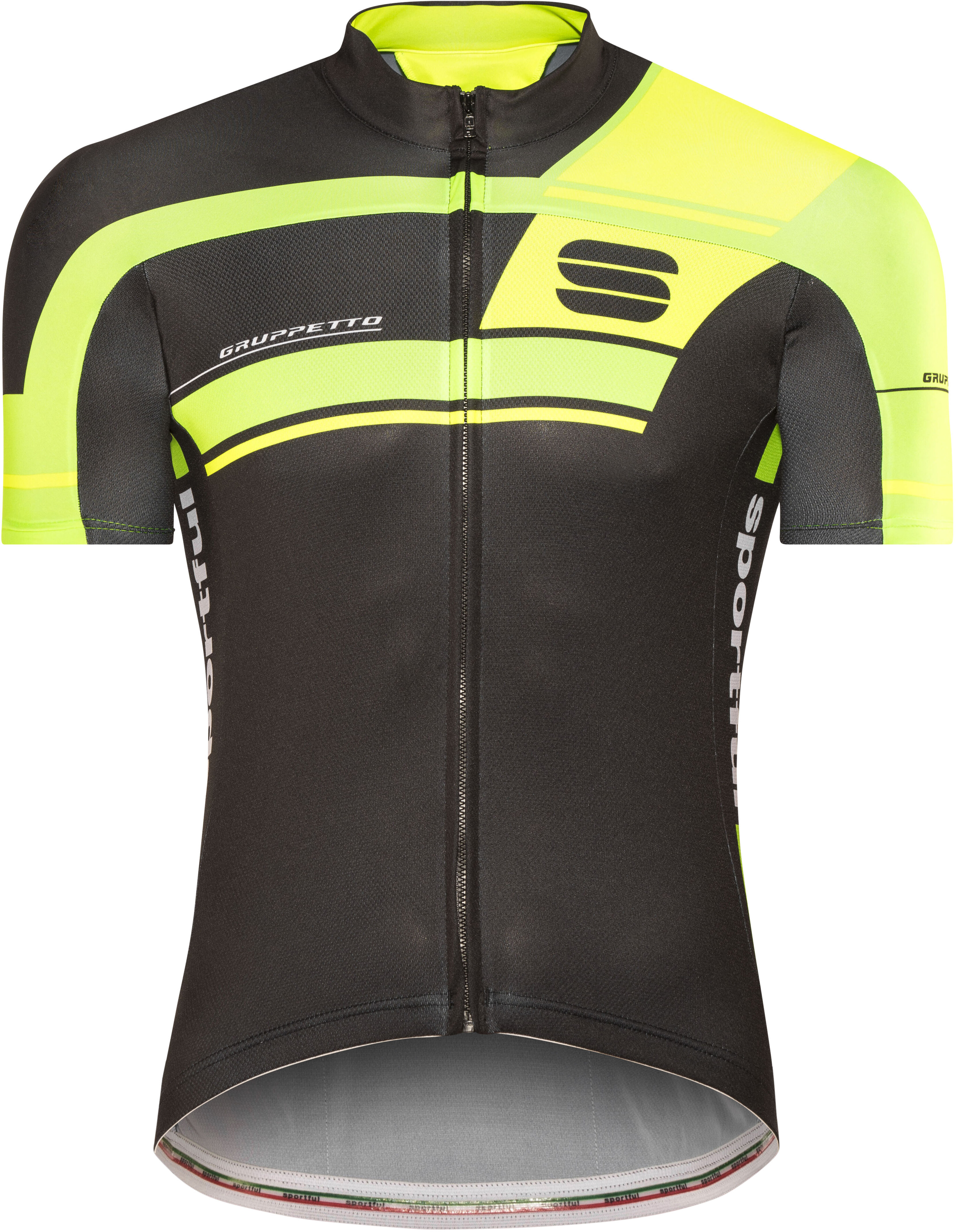4b688b066 Sportful Gruppetto Pro Team Bike Jersey Shortsleeve Men green black ...